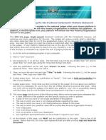 3. AC2014 Platform_Instructions