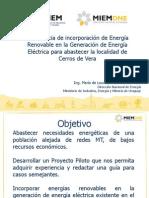 17. Maria de Lourdes Albornoz- Experiencia de Incorporacion de Energia Renovable