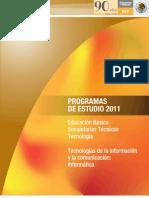 Plan de Estudio InformaticaTEC 2011