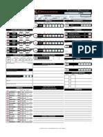 Planilha de Personagem d&d 4.0 Excel - Leeh