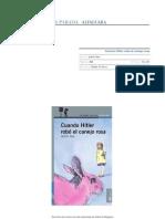 Guia Actividades Cuando Hitler Robo Conejo Rosa
