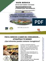Guia Alimentos OGM y Alternativas Julio 2012 Chile M