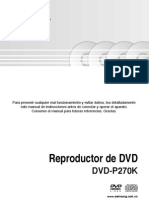 Samsung Dvd p270