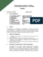 Física I. Lic. Magallanes