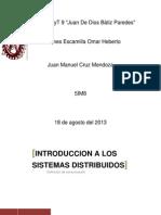 tarea comunicación sistemas distribuidos
