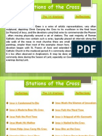 The 15 stations of the cross