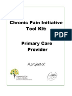 Chronic Pain Initiative Pain Med Abuse Reduction Community Toolkit