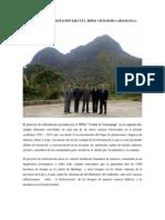 PROYECTO DE REFORESTACIÓN EJECUTA EL ISPED  CIUDAD DE CARIAMANGA