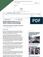 'Manifestódromo' liberaria vias vitais e evitaria caos no trânsito - Jornal O Globo