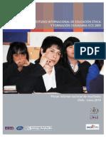 Chile - Estudio Sobre Educación Cívica y formación ciudadana ICCS 2009.