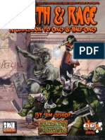 Races of Renown - Wrath & Rage a Guidebook to Orcs and Half