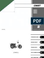 Honda C90 Parts Catalog