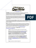Dan Winter Theory Fundamentals