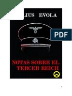 Julius Evola Notas Sobre El Tercer Reich