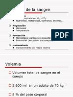 clase fisiología sanguínea 2011.1