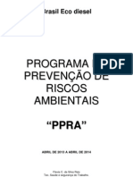 Ppra Brasil Ecodiesel