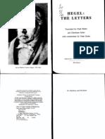 Hegel - The Letters. Butler and Seiler, Eds. 1984 (OCR)