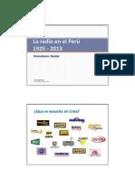 01_1 LA RADIO y Periodismo 1925-2013