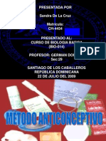 METEDOS ANTICONCEPTIVOS