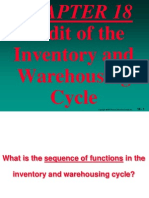Audit of the Inventory and Warehousing Cycle