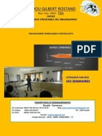 Programme Seminaires Certifiants - Expert Medou g.r