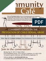 Community Cafe Brochure Sep 23 2013 Cafe