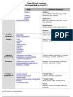 math matrix tri 1  parent pdf