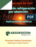 Refrigeracion Solar 08 F Padros