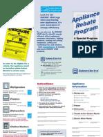 Rebate Brochure