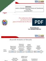 Venezuela SENIAT Control Precios de Transferencia