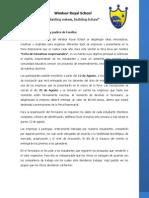 Feria Empresarial WRS - Información para Padres Grado 4°