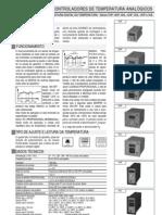 DIGIMEC - Controlador Temperatura Analógico com Leitura Digital