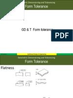 Form Tolerance Gdt