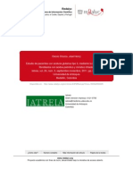 ARTICUO aciduria glutárica