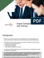 Expert Compliance Training