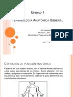 Unidad 1 Terminalogia Anatomica General