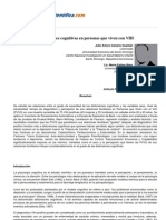 Psicologiapdf 61 Distorsiones Cognitivas en Personas Que Viven Con Vih