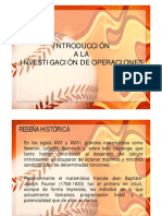 2 Introduccion a La Investigacion de Operaciones