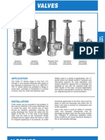 Albany Relief Valves (Performance v Series)