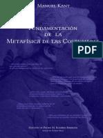 Fundamentación de la metafísica de las costumbres -- Immanuel Kant (PDF)