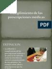 Cumplimiento de Las Prescripciones (2)