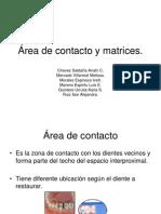 Area Contacto