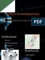 Tecnicas en Microbiologia