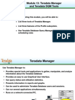 b413 Td Manager & Dqm