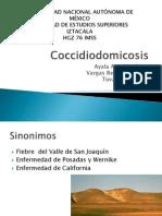 coccidiodomicosis pulmonar
