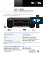 AVR-1713 Spec Sheet
