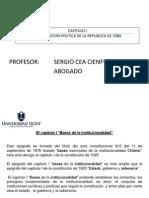 Capitulo I Constitucion Politica de La Republica Primera Parte (_II_)UCINF (Con Logo)