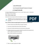 Solucion 2 Atasco HP PSC1315