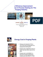 Energy Efficiency in Forging