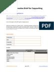 Creative Brief for Copywriting - GrowthPanel.com